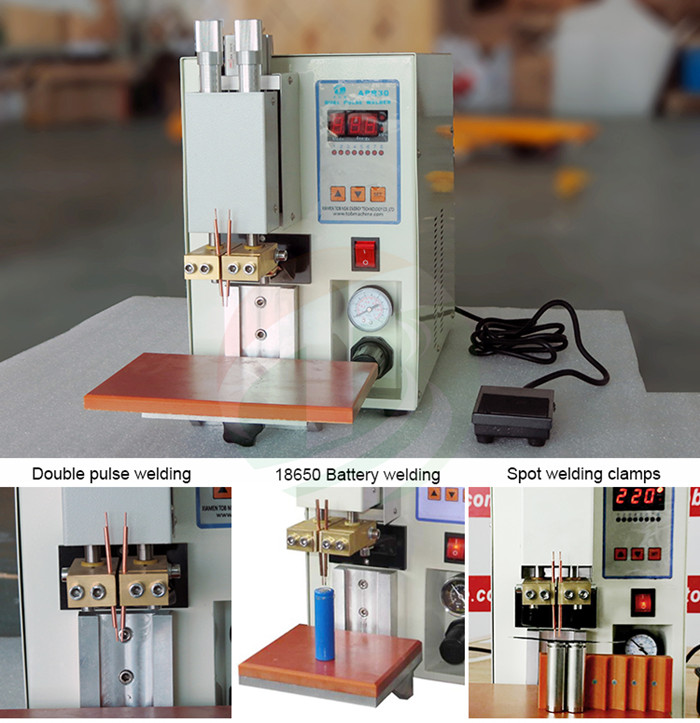 18650 table spot welding machine