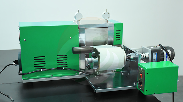 battery electrode rolling press machine