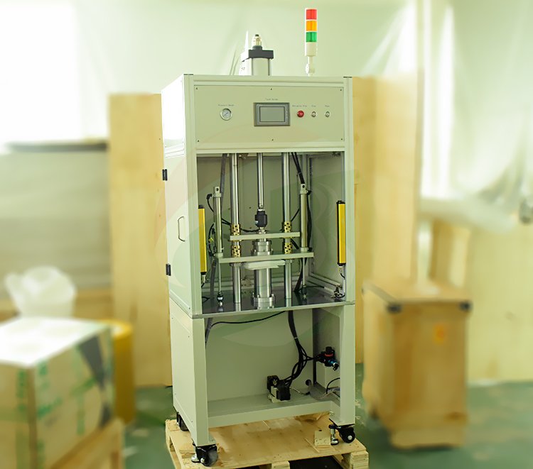 Supercapacitor battery cell feeding machine