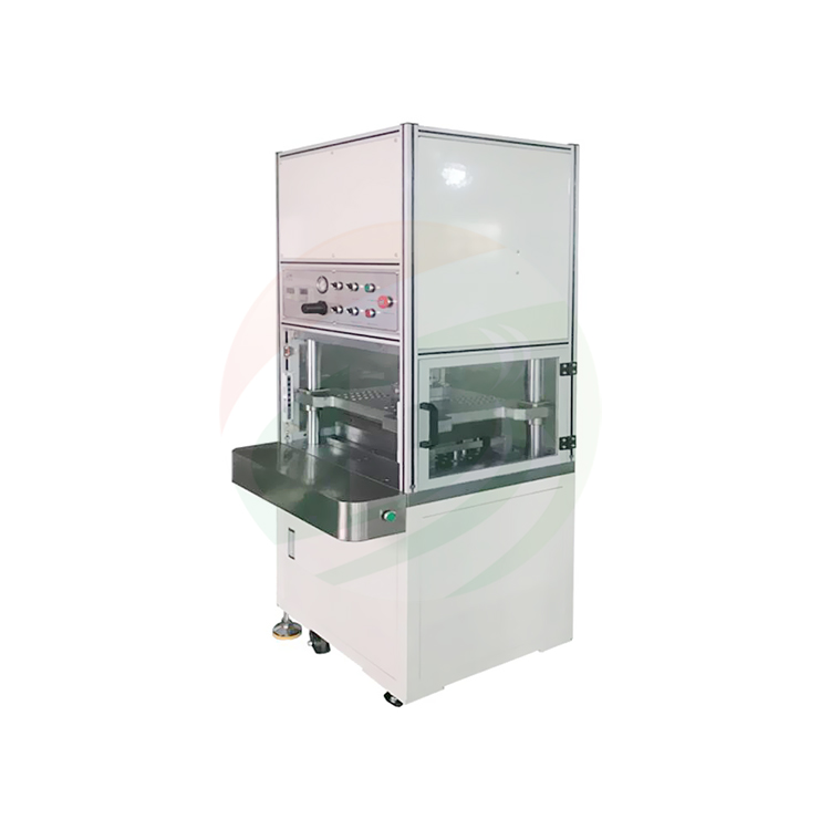 Pouch cell case forming machine