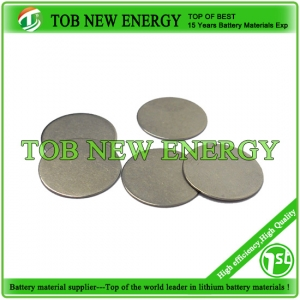 coin cell battery materials