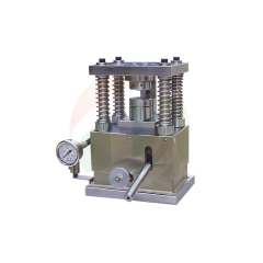Battery manual sealing machine