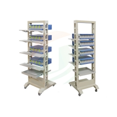 Mobile Rack For Battery Analzyer