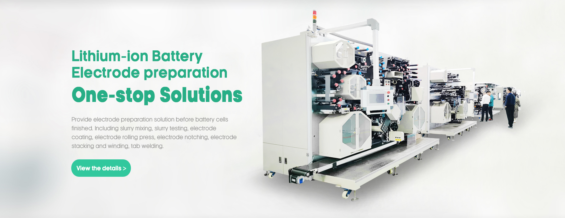 Automatic battery stacking machine